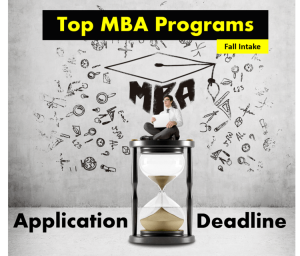 MBA Application Deadlines