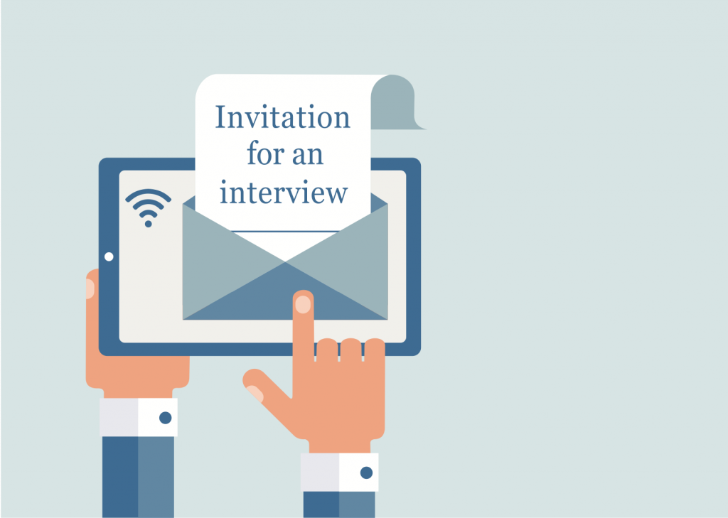 mba admissions committee invite for interview