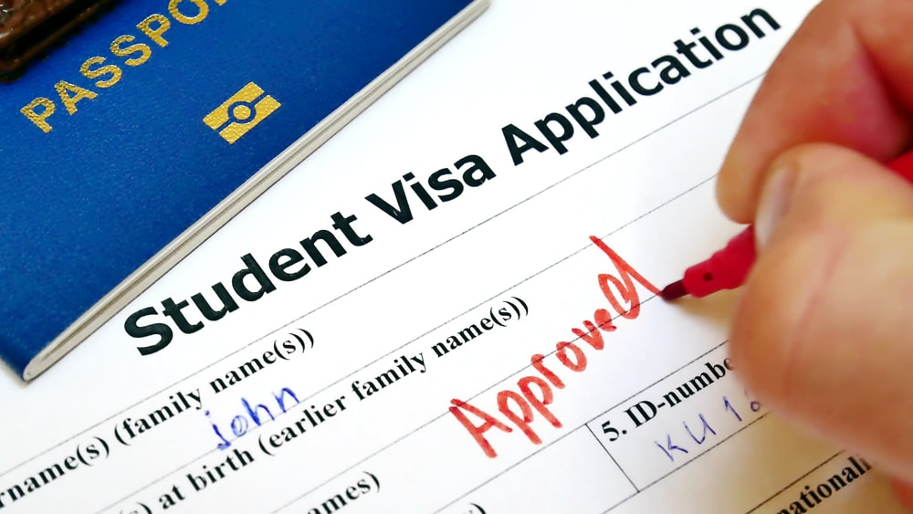 f1 visa application