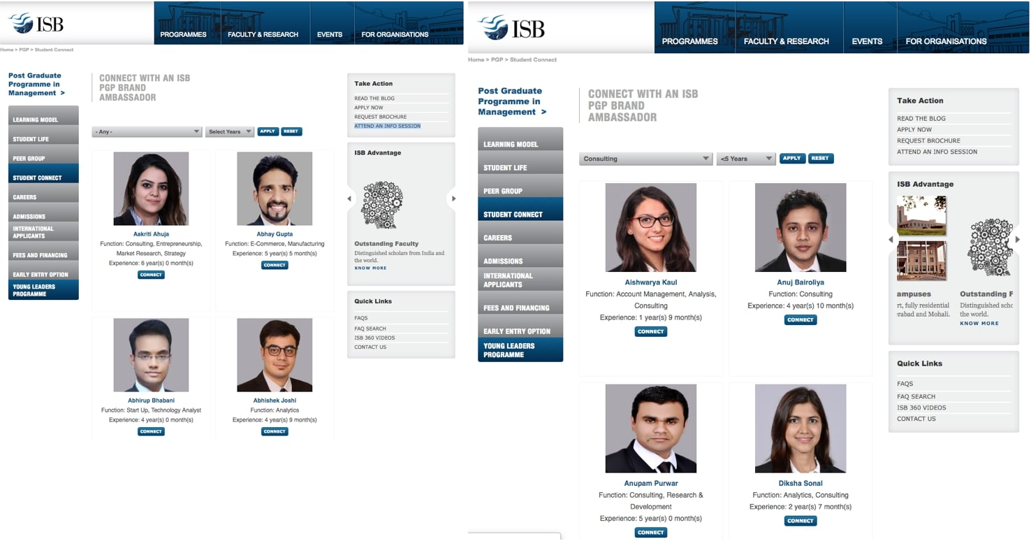 how to get into ISB PGP MBA
