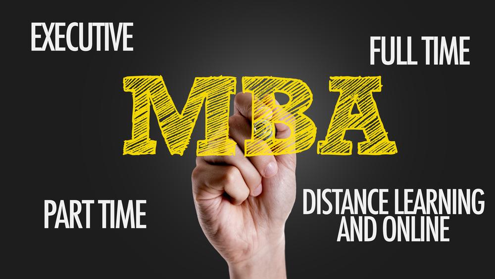 types of MBA program