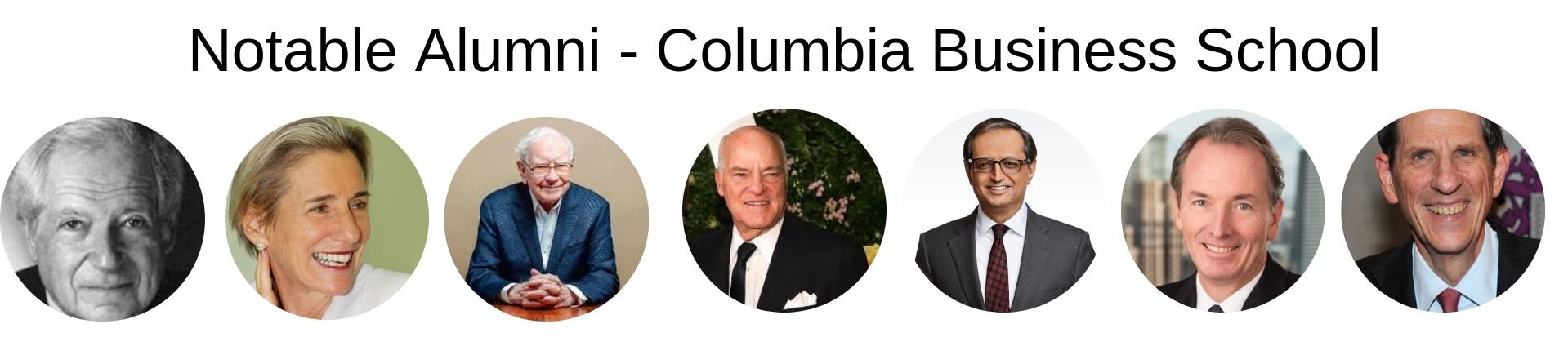 Columbia Business School MBA Program Alumni