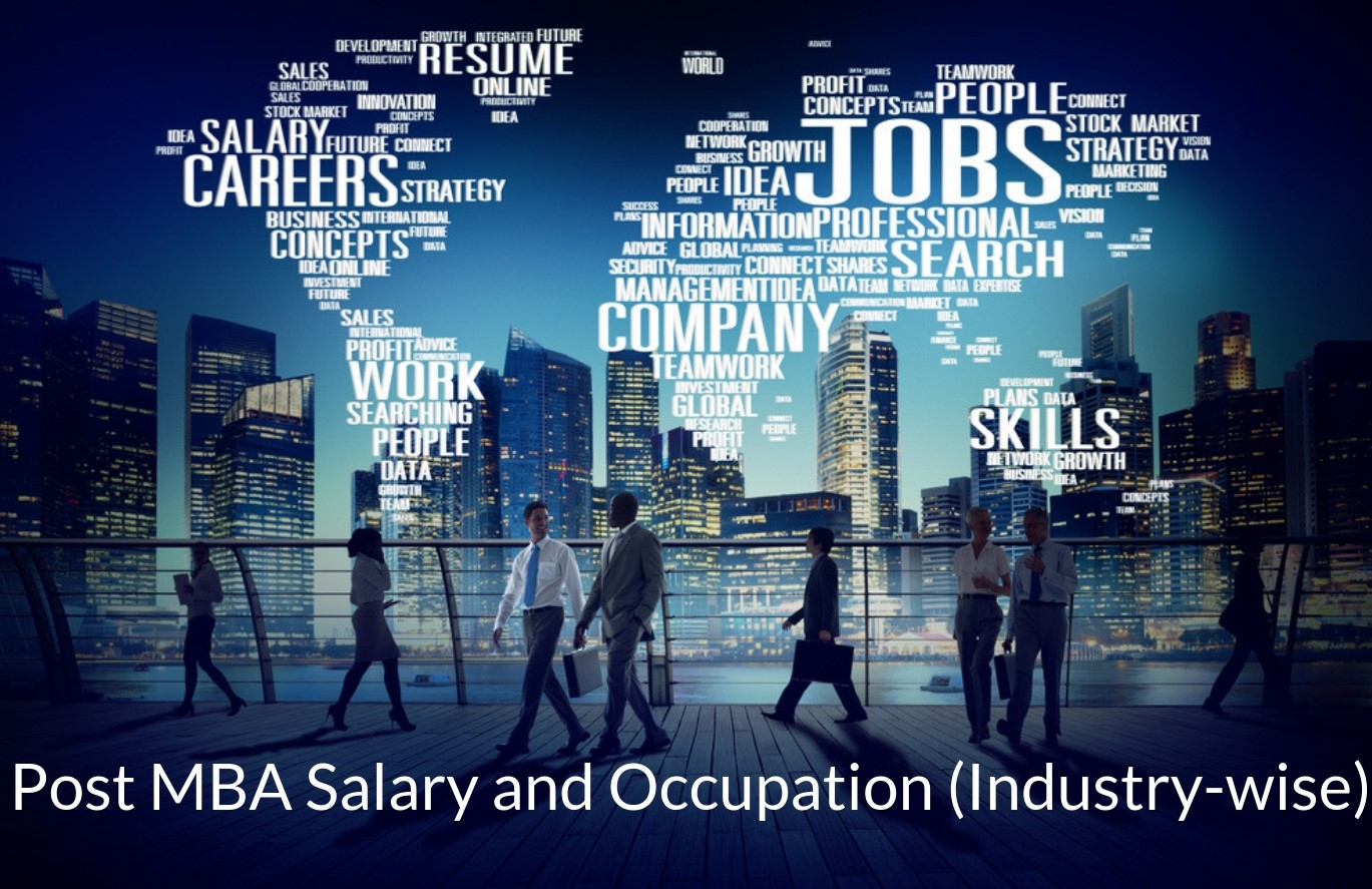 MBA Salary and Occupations (Industry-wise)