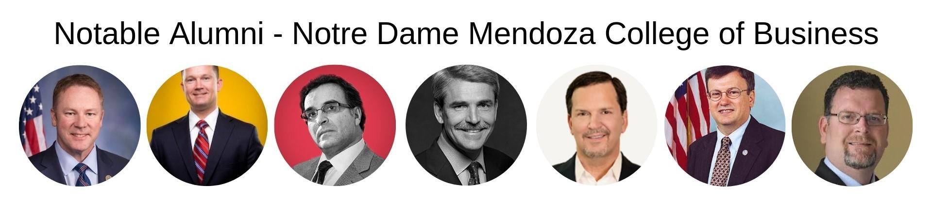 Notre Dame Mendoza MBA Program - Notable Alumni