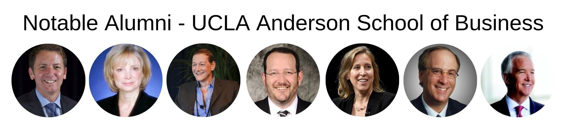 UCLA Anderson School of Management - Notable Alumni