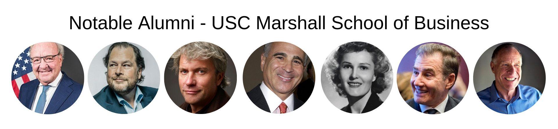 USC Marshall School of Business - USC MBA Program - Notable Alumni