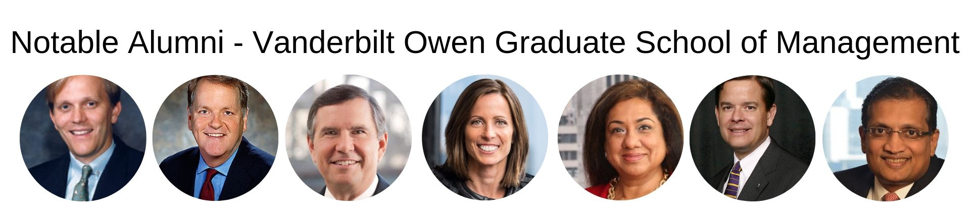 Vanderbilt MBA Program - Vanderbilt Owen Graduate School of Management - Notable Alumni