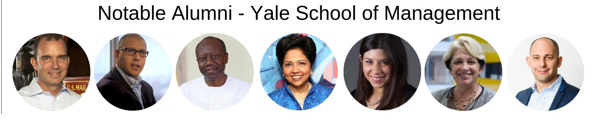 Yale School of Management - Yale SoM MBA Program - Notable Alumni