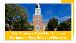 Top MBA Programs - Darthmouth Tuck
