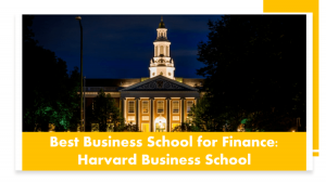Top MBA programs for finance - Harvard