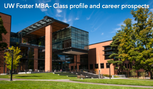 foster school of business class profile and career prospects