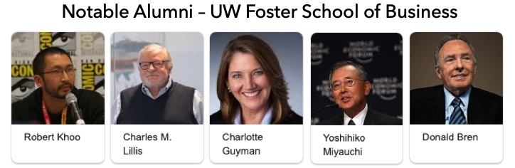 foster school of business notable alumni
