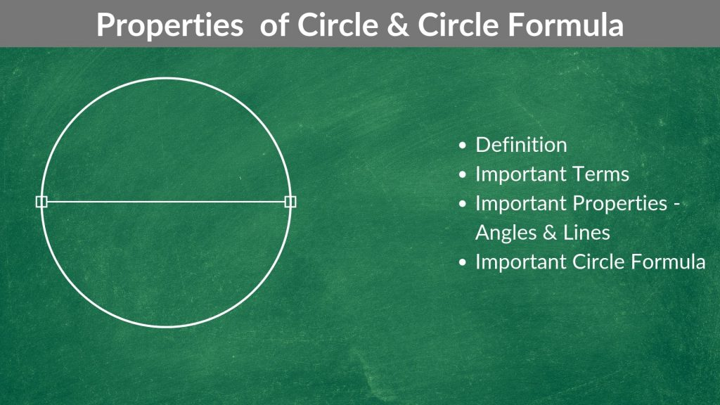Properties of Circle & Circle Formula