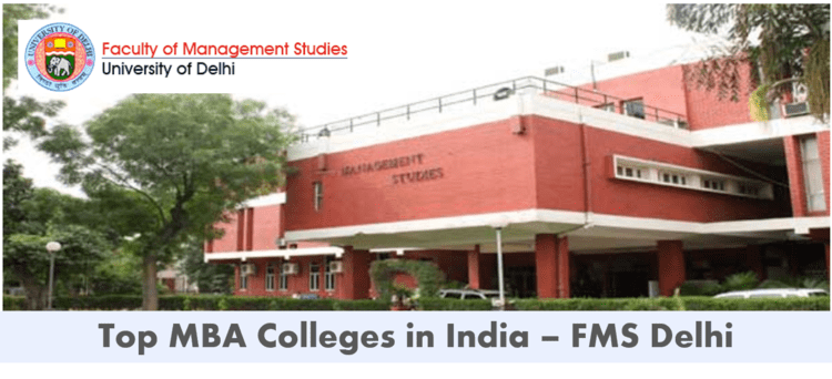 Best mba colleges in india - FMS delhi