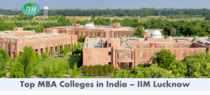 Business schools in India - IIM Lucknow