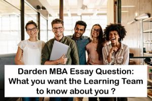 Darden-Essays-learning-team