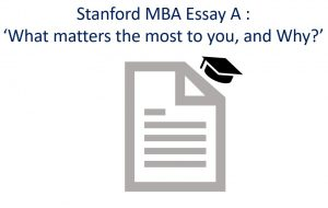 Stanford MBA Essay A