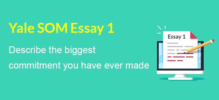 Yale SoM required essay Analysis