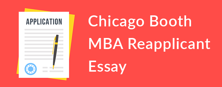 Re-applicant Essay
