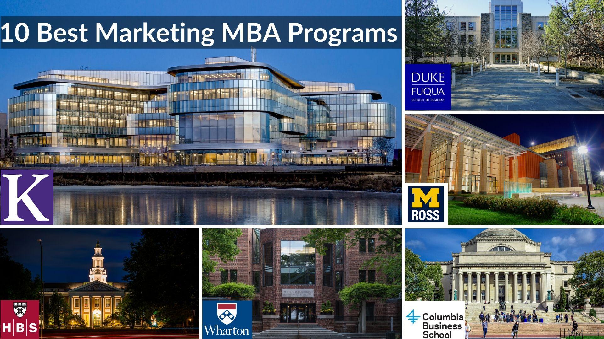 best marketing mba programs 2021