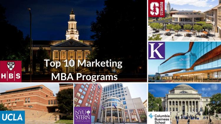 Top MBA marketing universities