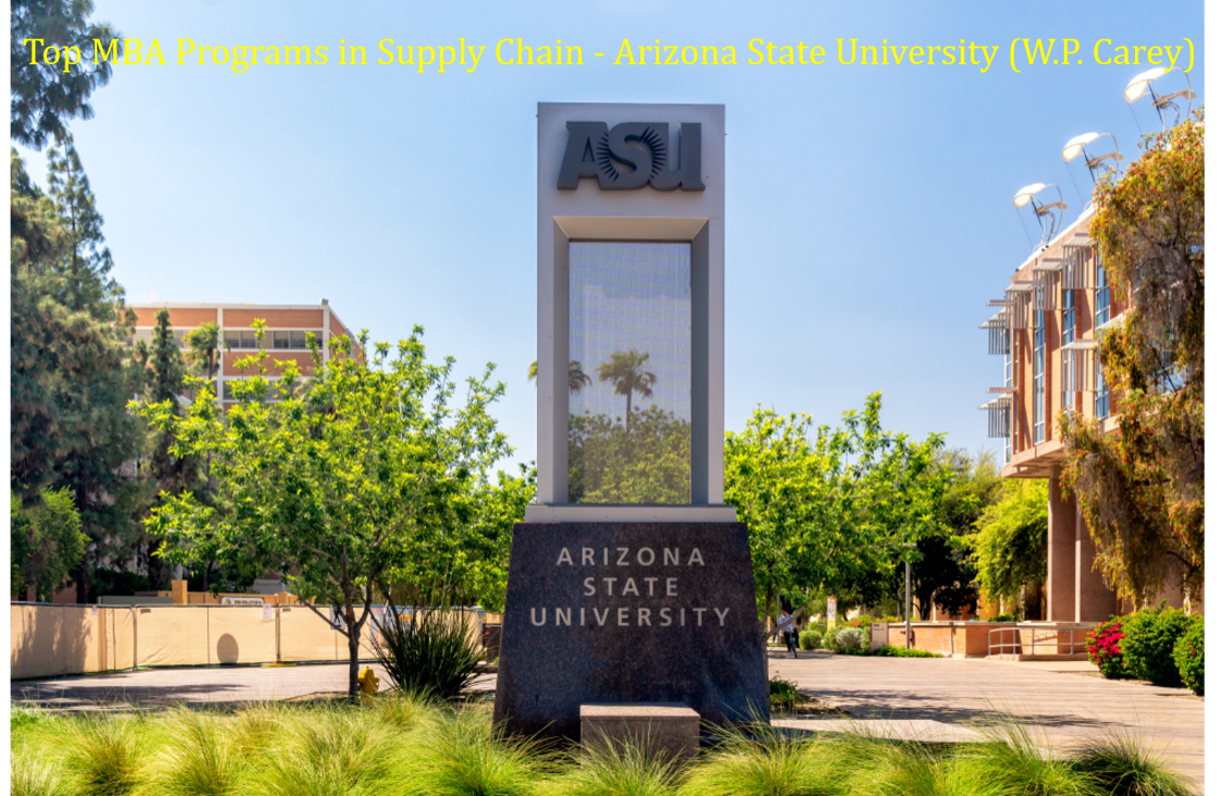 Top MBA Programs SCM - Arizona