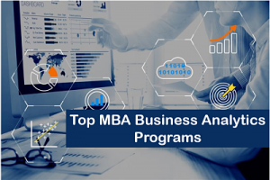 best mba business analytics colleges