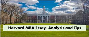 harvard-MBA-Essay-tips