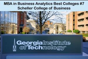 Best MBA program Business analytics - Scheller
