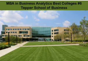 MBA business analytics best colleges - Tepper
