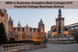 Best MBA analytics colleges - Imperial