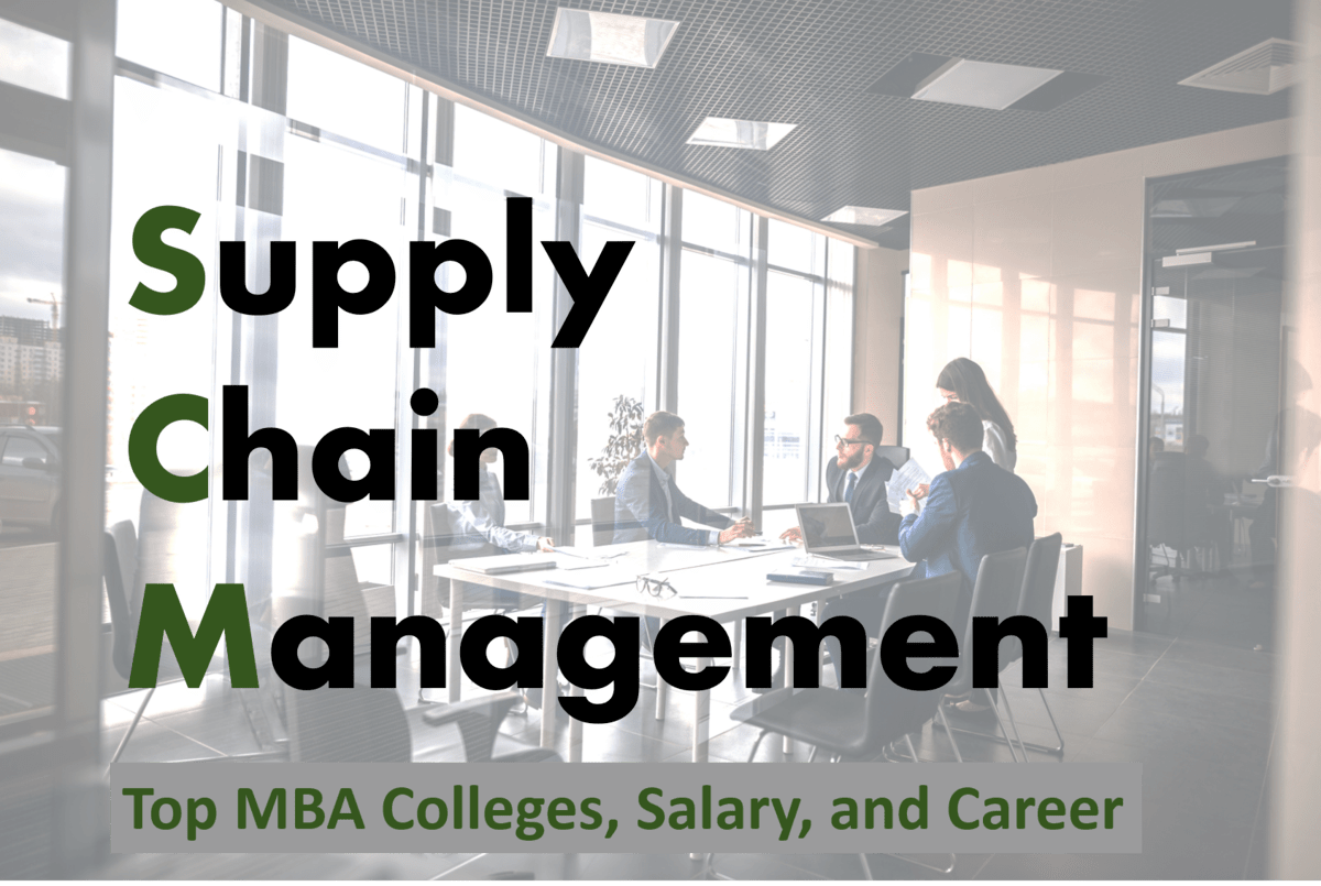 MBA in Supply Chain Management 2020