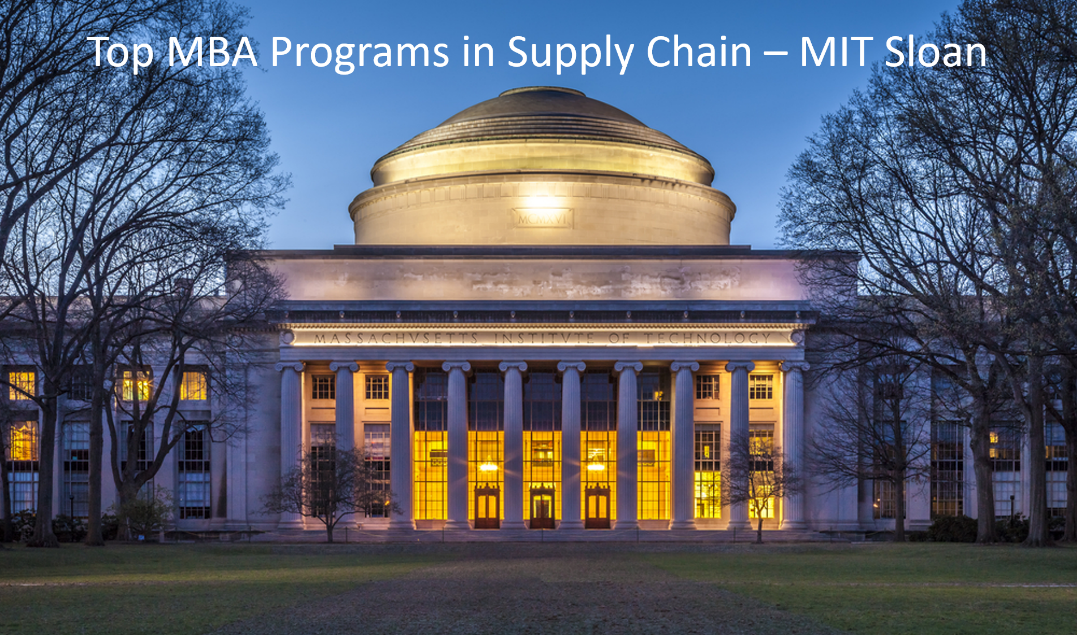 Top MBA Programs SCM - MIT