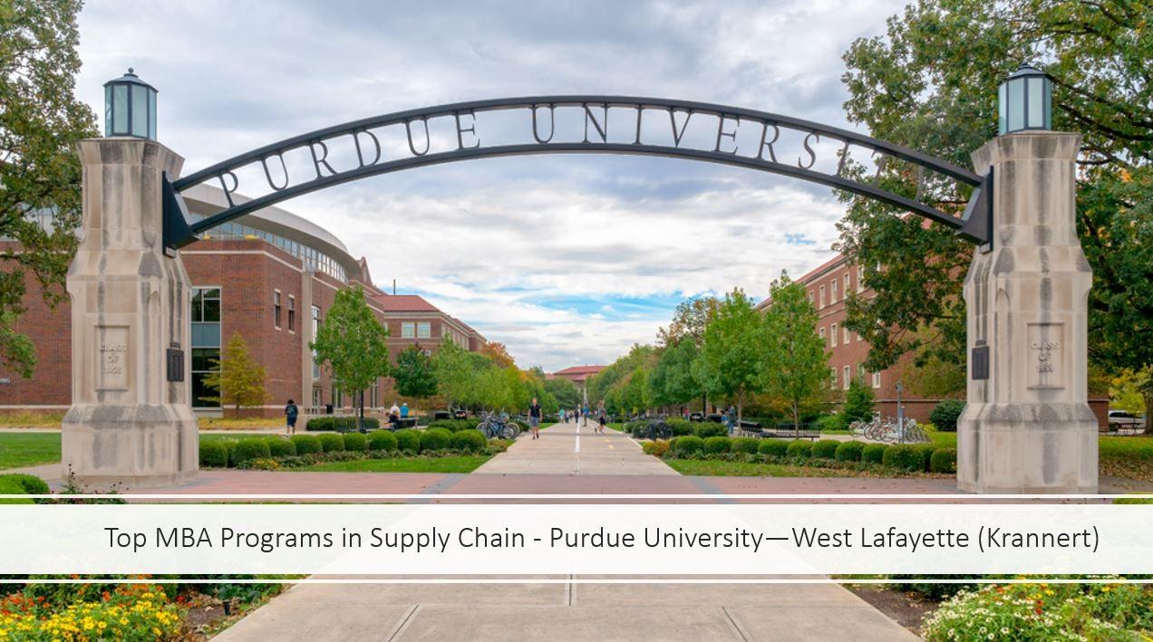 Top MBA Programs SCM = Krannert