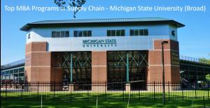 Top MBA Program SCM - MSU