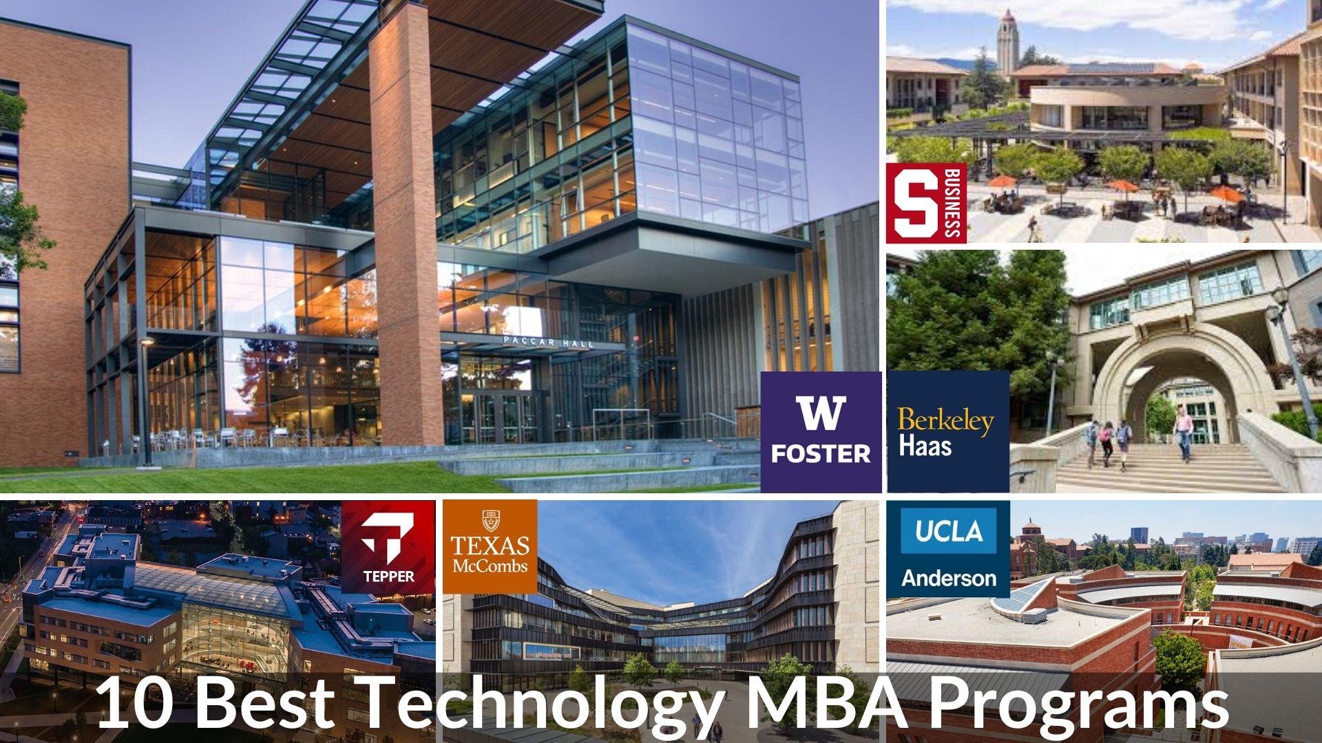 10 Best Technology MBA Programs