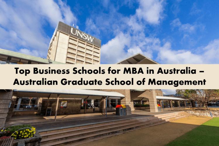 Australian graduate school of Management