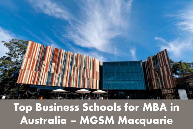 MBA colleges in Australia MGSM
