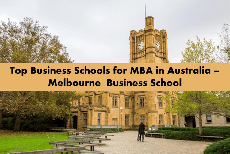 Melbourne business school