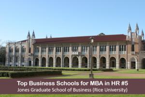 mba in hr human resource management jones
