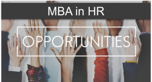 MBA in hr human resource management opportunities