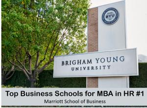 MBA in hr Marriott school of business