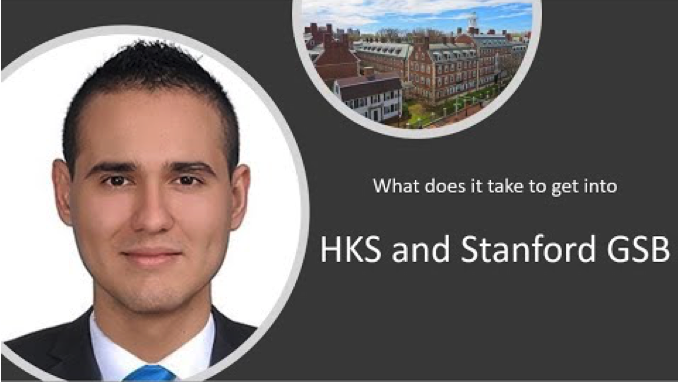 Pedro gets into Stanford GSB and HKS