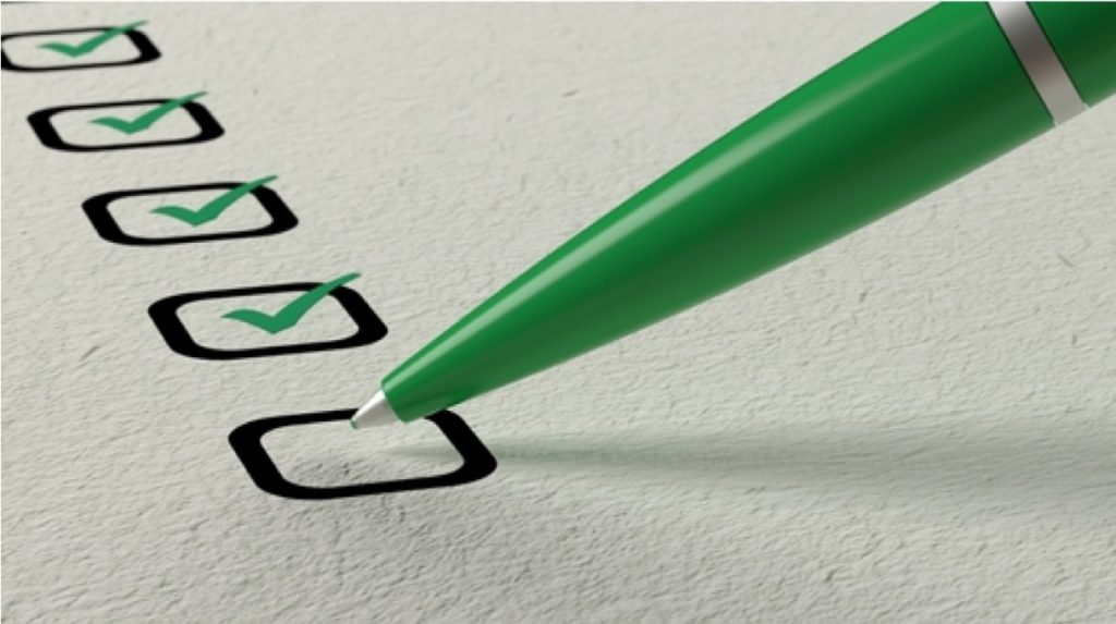 checklist GMAT online