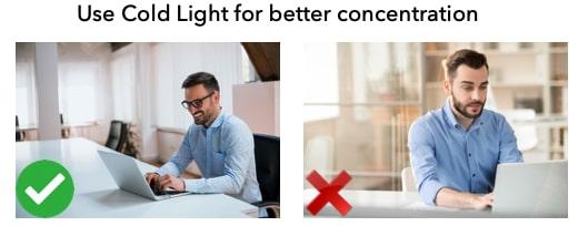 GMAT at home lighting