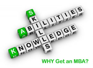why get an mba skills and knowledge development