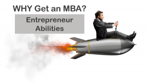 why get an mba to develop entrepreneurship skills