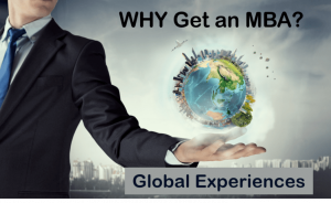 why mba global experiences
