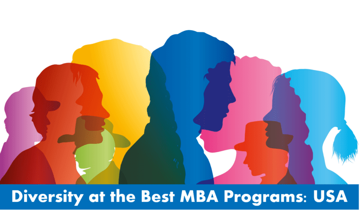Diversity at best mba programs in USA