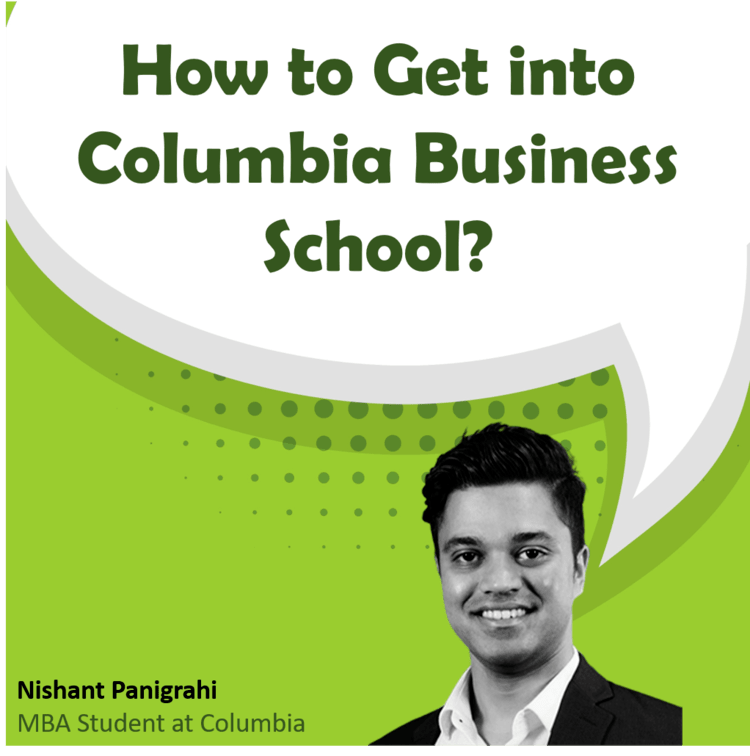 How to get into Columbia MBA application profile